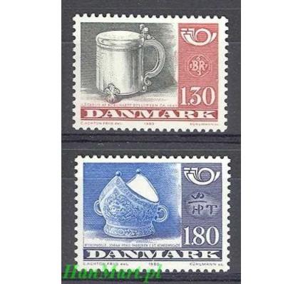 Dania 1980 Mi 708-709 Czyste **