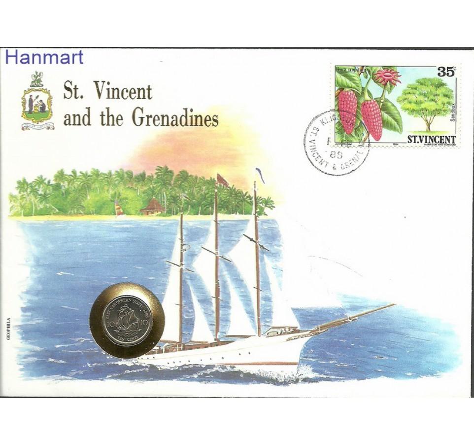 St. Vincent 1984 Mi num705 FDC