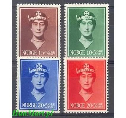 Norwegia 1939 Mi 203-206 Czyste **