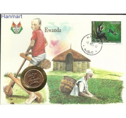 Znaczek Rwanda 1988 Mi num1390 FDC