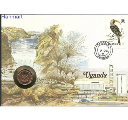 Znaczek Uganda 1982 Mi num333 FDC