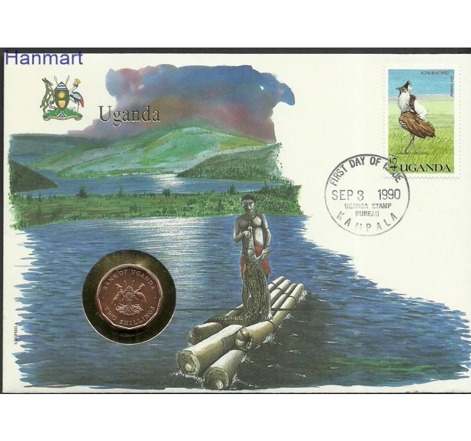 Uganda 1990 Mi num815 FDC