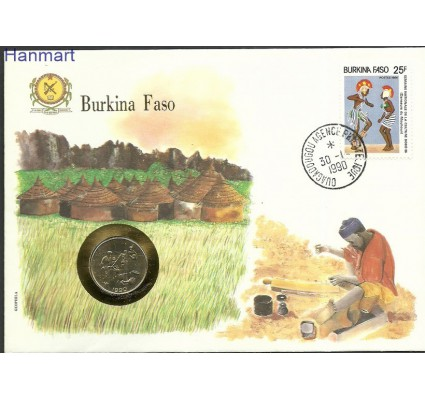 Znaczek Burkina Faso 1986 Mi num1107 FDC