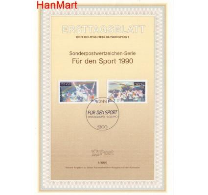 Znaczek Niemcy 1990 Pierwszy dzień wydania