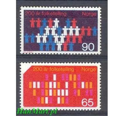 Znaczek Norwegia 1969 Mi 596-597 Czyste **