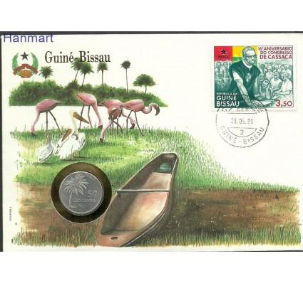 Znaczek Gwinea Bissau 1980 Mi num571 FDC