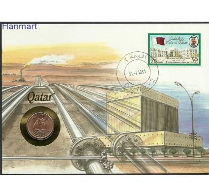 Znaczek Katar 1989 Mi num932 FDC