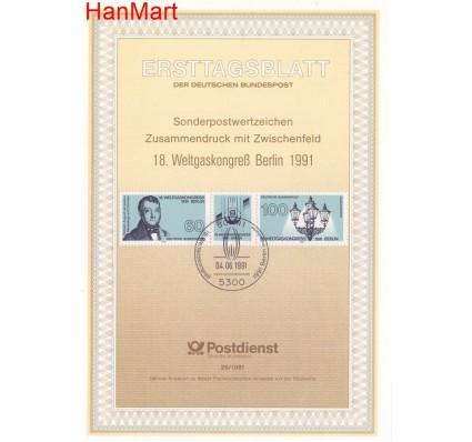 Znaczek Niemcy 1991 Pierwszy dzień wydania