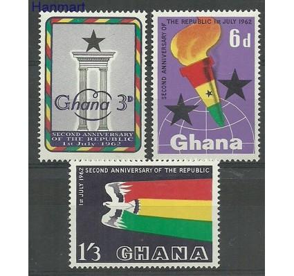 Znaczek Ghana 1962 Mi 127-129 Czyste **