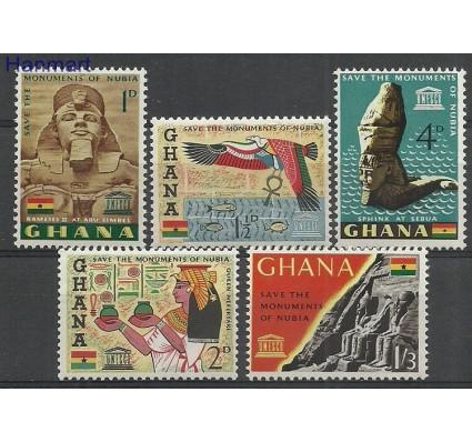 Znaczek Ghana 1963 Mi 157-161 Czyste **