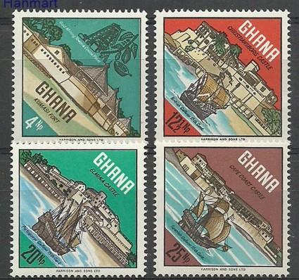 Znaczek Ghana 1967 Mi 306-309 Czyste **