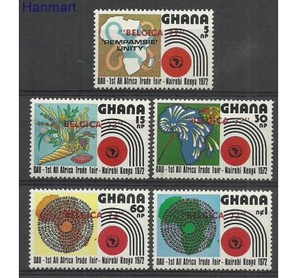 Znaczek Ghana 1972 Mi 463-467 Czyste **