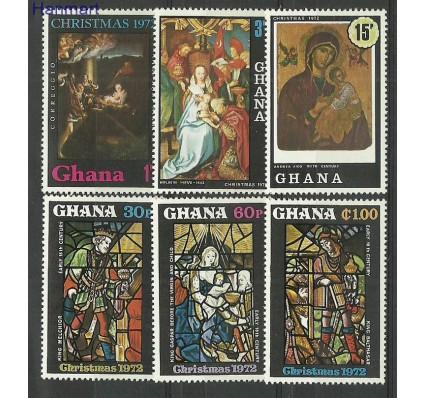 Znaczek Ghana 1972 Mi 486-491 Czyste **