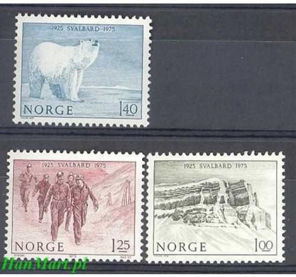 Znaczek Norwegia 1975 Mi 709-711 Czyste **