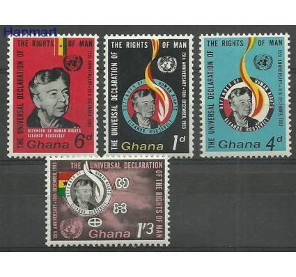 Znaczek Ghana 1963 Mi 166-169 Czyste **
