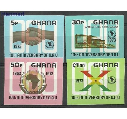 Znaczek Ghana 1973 Mi 516-519B Czyste **
