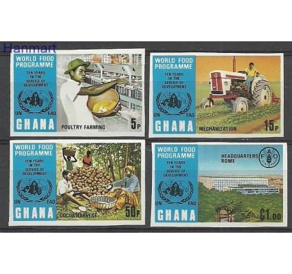 Znaczek Ghana 1973 Mi 526-529B Czyste **