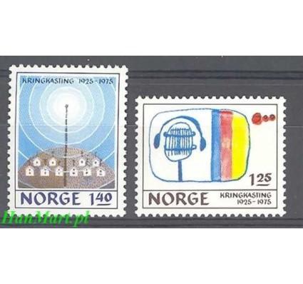Znaczek Norwegia 1975 Mi 712-713 Czyste **