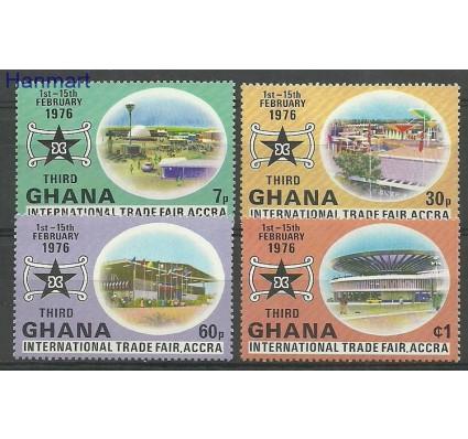 Znaczek Ghana 1976 Mi 634-637 Czyste **
