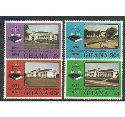 Znaczek Ghana 1976 Mi 654-657 Czyste **
