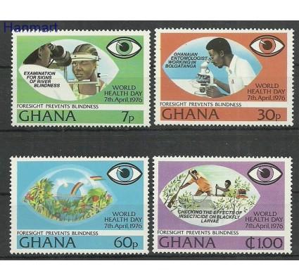 Znaczek Ghana 1976 Mi 658-661 Czyste **