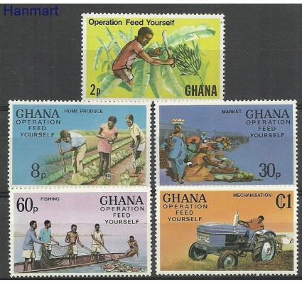 Znaczek Ghana 1978 Mi 754-758 Czyste **