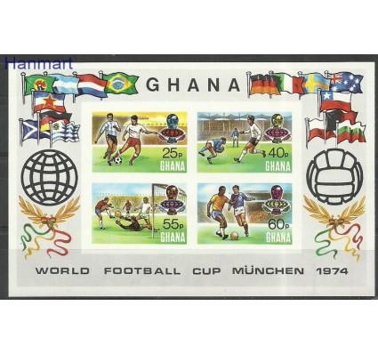 Znaczek Ghana 1974 Mi bl57B Czyste **