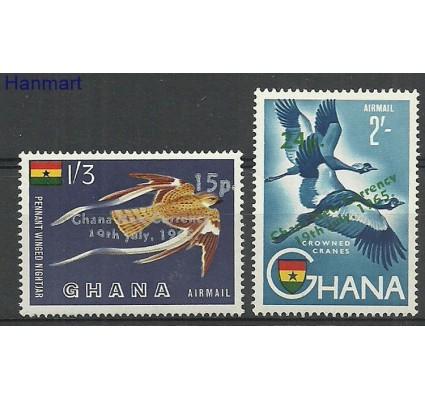 Znaczek Ghana 1965 Mi 235-236 Czyste **