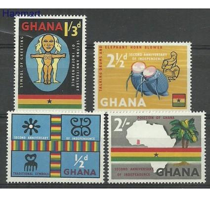 Znaczek Ghana 1959 Mi 42-45 Z podlepką *
