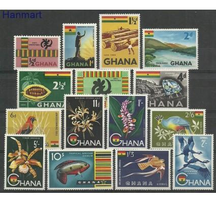 Znaczek Ghana 1959 Mi 48-62 Z podlepką *