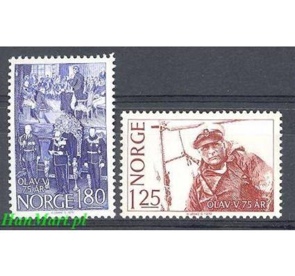 Norwegia 1978 Mi 773-774 Czyste **