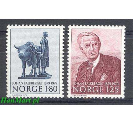 Norwegia 1979 Mi 797-798 Czyste **