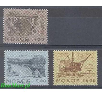 Norwegia 1979 Mi 803-805 Czyste **