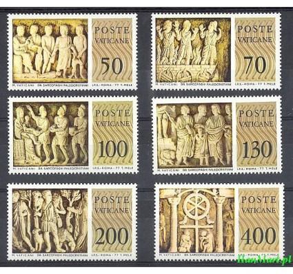Znaczek Watykan 1977 Mi 711-716 Czyste **