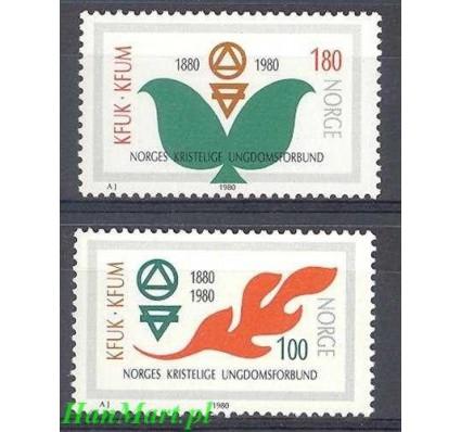 Norwegia 1980 Mi 809-810 Czyste **