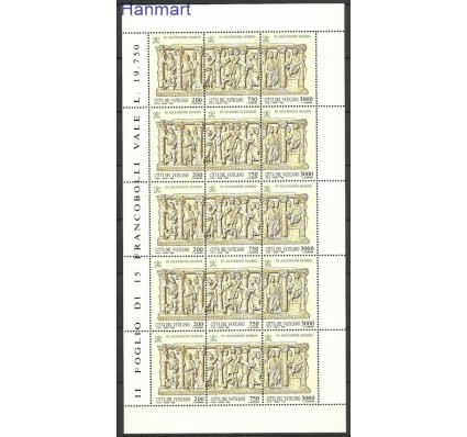 Znaczek Watykan 1993 Mi ark 1090-1092 Czyste **