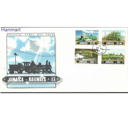 Znaczek Jamajka 1985 Mi 616-619 FDC
