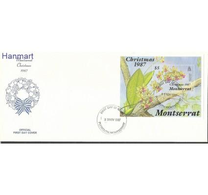 Znaczek Montserrat 1987 Mi bl46 FDC