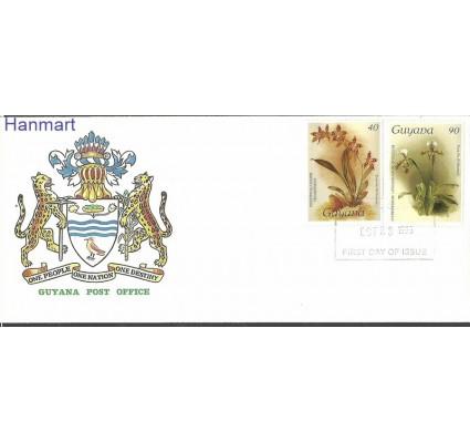 Znaczek Gujana 1986 Mi 1684-1685 FDC