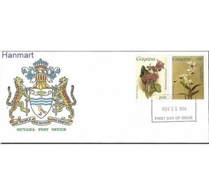 Znaczek Gujana 1986 Mi 1705-1706 FDC