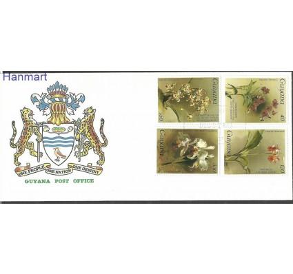 Znaczek Gujana 1986 Mi 1735-1743a FDC