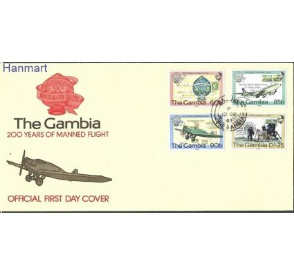 Znaczek Gambia 1983 Mi 491-494 FDC
