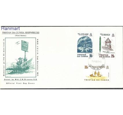 Znaczek Tristan da Cunha 1985 Mi 381-383 FDC