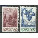 Norwegia 1985 Mi 928-929 Czyste **
