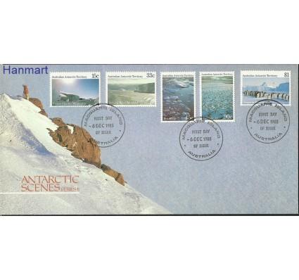 Znaczek Australijskie Terytorium Antarktyczne 1985 Mi 64+67-68+71-72 FDC