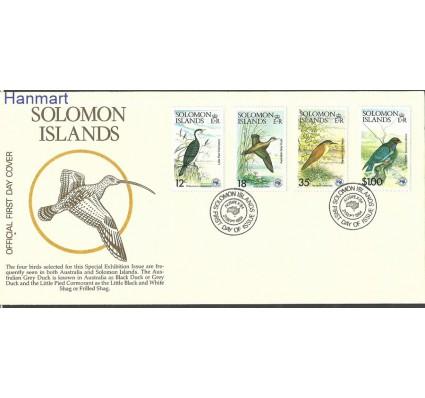Znaczek Wyspy Salomona 1984 Mi 540-543 FDC