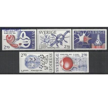 Znaczek Szwecja 1984 Mi 1311-1315 Czyste **