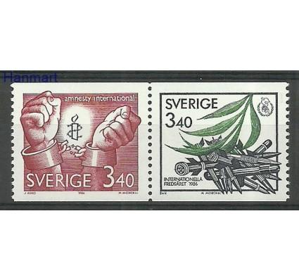 Znaczek Szwecja 1986 Mi 1407-1408 Czyste **