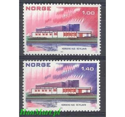 Znaczek Norwegia 1973 Mi 662-663 Czyste **