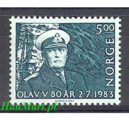 Norwegia 1983 Mi 889 Czyste **